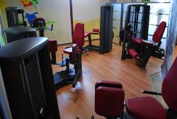 Hier sehen Sie den Gerätebereich für die Beine im Fitness Studio Aktiv am Dom in Freiberg