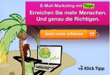 Erreichen Sie mehr Menschen und genau die richtigen mit E-Mail-Marketing