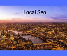 Bild Stadt mit dem Titel Local Seo